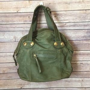 GUSTTO Green Hobo Handbag Shoulder Bag